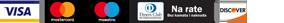 Prikaz kartica koje Altirand webshop prima