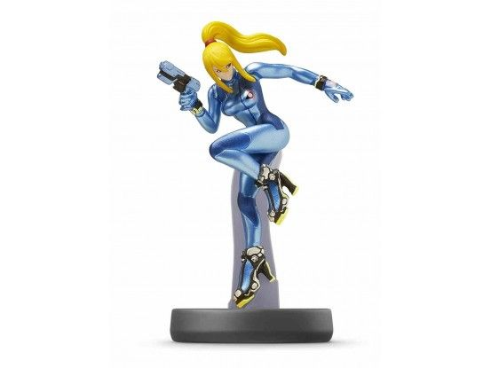 Figurica Amiibo Super Smash Bros Zero Suit Samus no 40