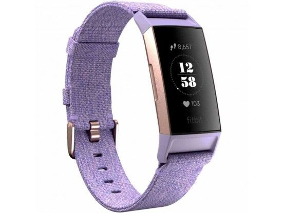 Fitbit pametni sat Charge 3 Special Edition Lavender Woven