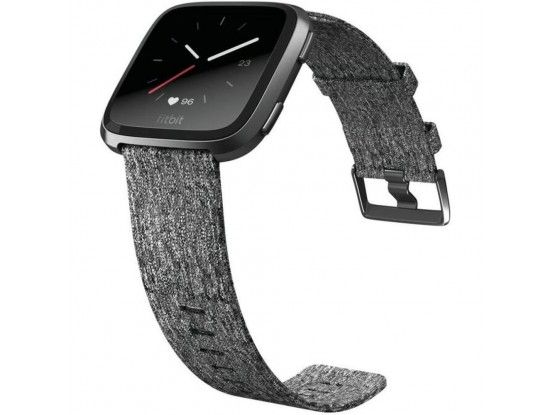 Fitbit pametni sat Versa Special Edition Charcoal Woven