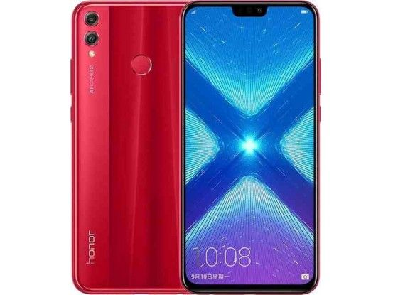 Honor pametni telefon 8X DS 64 GB Red