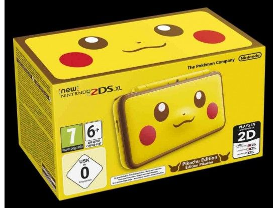 Nintendo 2DS XL Console Limited Edition Pikachu