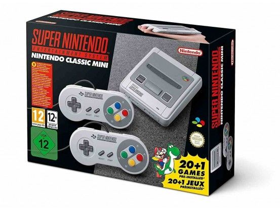 Nintendo Classic Mini Console SNES Super Nintendo Entertainment System