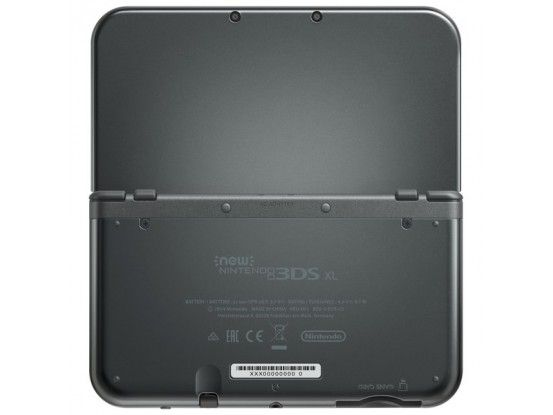 Nintendo New 3DS XL Console Metallic Black