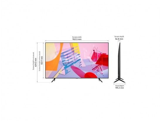 Samsung QLED TV QE75Q60TAUXXH Smart