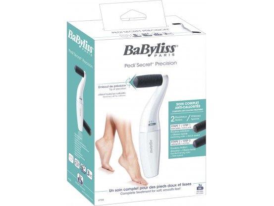 Babyliss baterijska rašpica za stopala H700