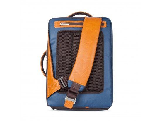 Moshi ruksak za prijenosno računalo Venturo koža plavi