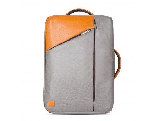 Moshi ruksak za prijenosno računalo Venturo koža sivi