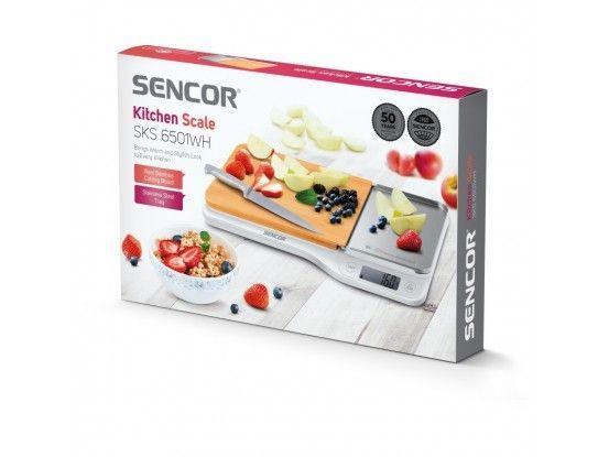 Sencor kuhinjska vaga SKS 6501WH