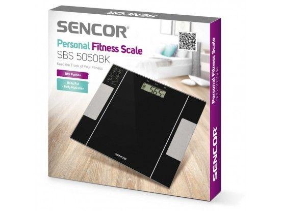 Sencor osobna dijagnostička vaga SBS 5050BK