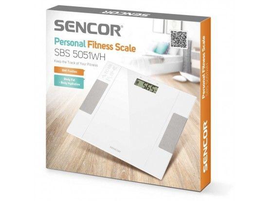 Sencor osobna dijagnostička vaga SBS 5051WH