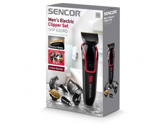 Sencor šišač za kosu SHP 6201RD