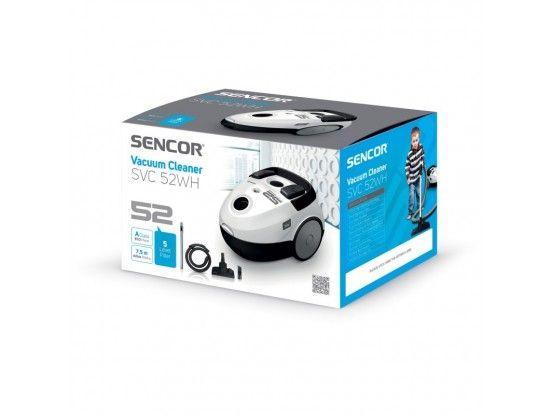 Sencor usisavač SVC 52WH-EUE3