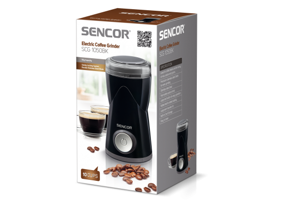 Sencor električni mlinac za kavu SCG 1050BK