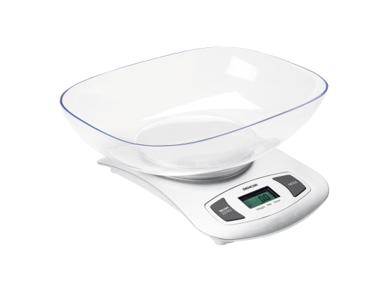 Sencor kuhinjska vaga s posudom SKS 4001WH
