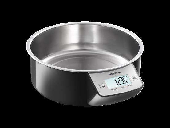 Sencor kuhinjska vaga s posudom SKS 4030BK