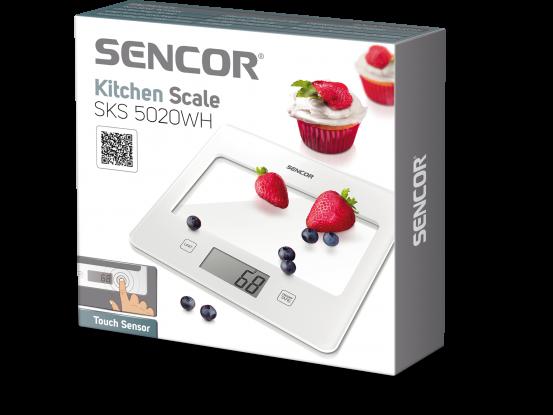 Sencor kuhinjska vaga SKS 5020WH