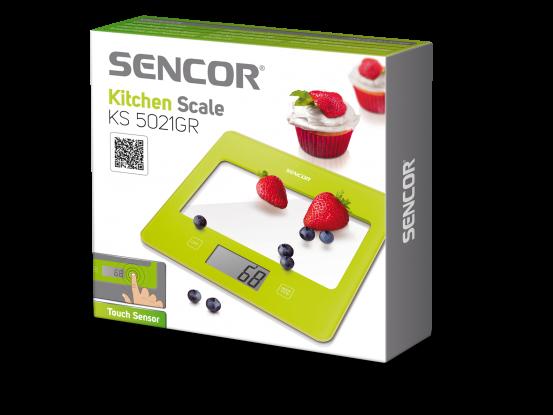 Sencor kuhinjska vaga SKS 5021GR