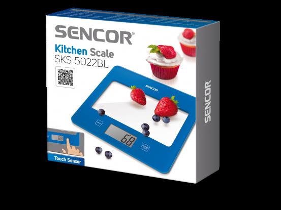 Sencor kuhinjska vaga SKS 5022BL