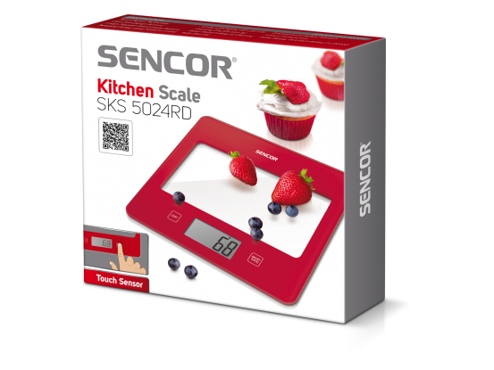 Sencor kuhinjska vaga SKS 5024RD