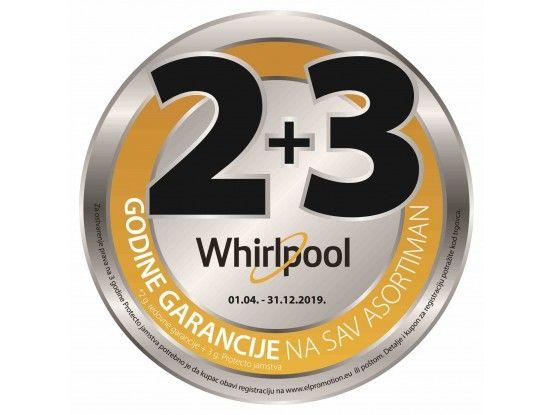 Whirlpool ugradbena perilica posuđa WIO 3T332 P